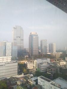 Penampakan Gedung di Kawasan Menteng Jakarta